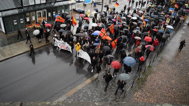 Pegida Demonstration am 27.04.15