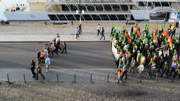 Demonstrationszug Pegida 18.05.2015